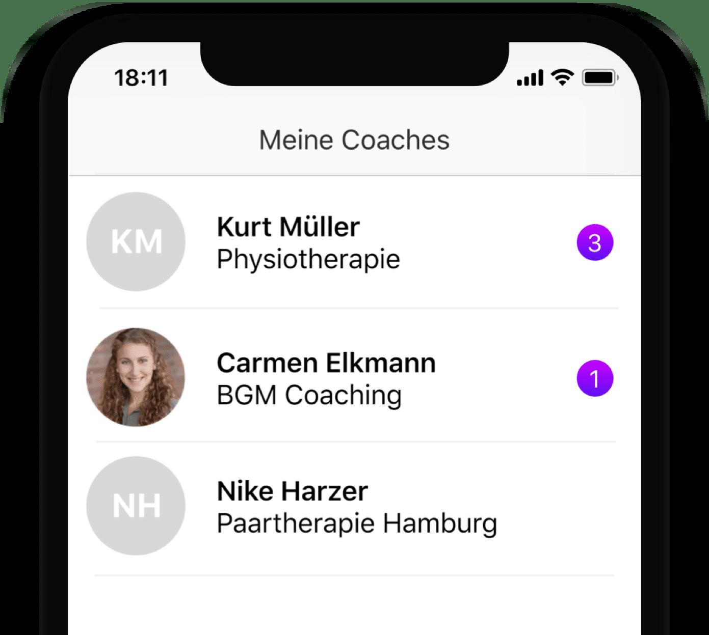 Coaching App auch für OKR