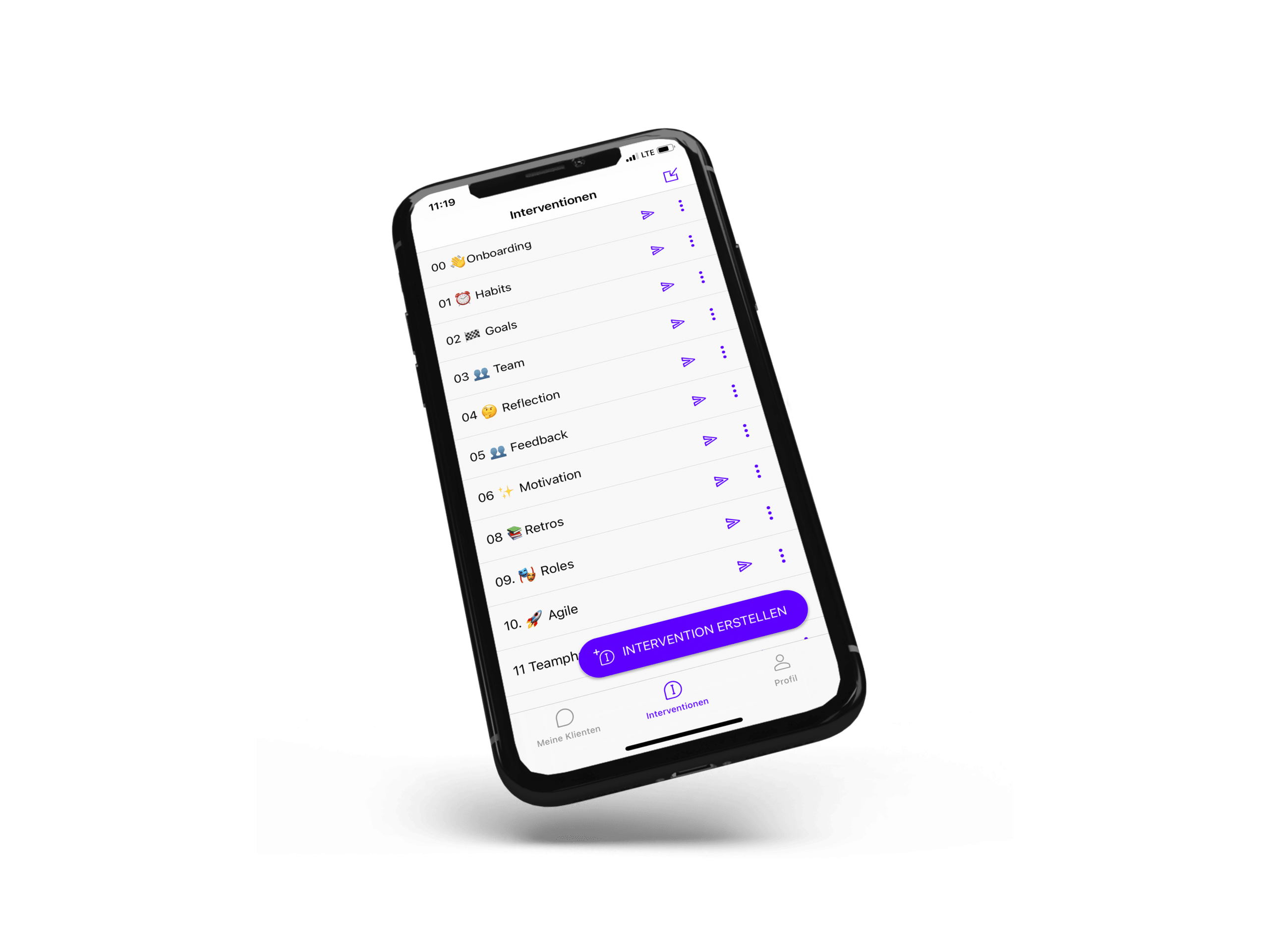 Einfach digitales Coaching per App anbieten